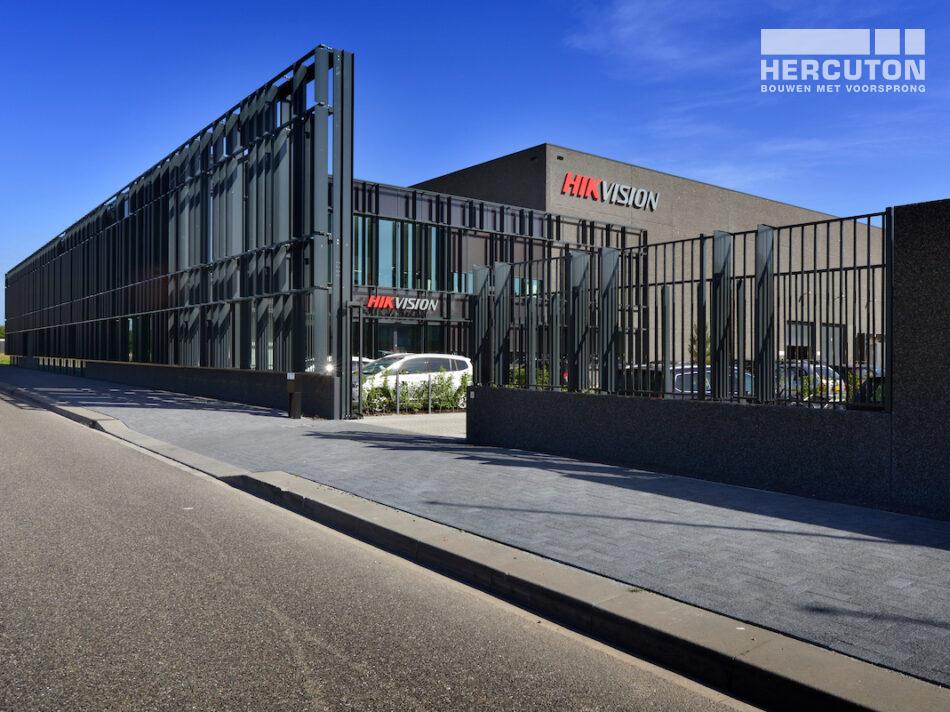 Nieuwe Europese hoofdkantoor Hikvision in Hoofddorp gerealiseerd door Hercuton