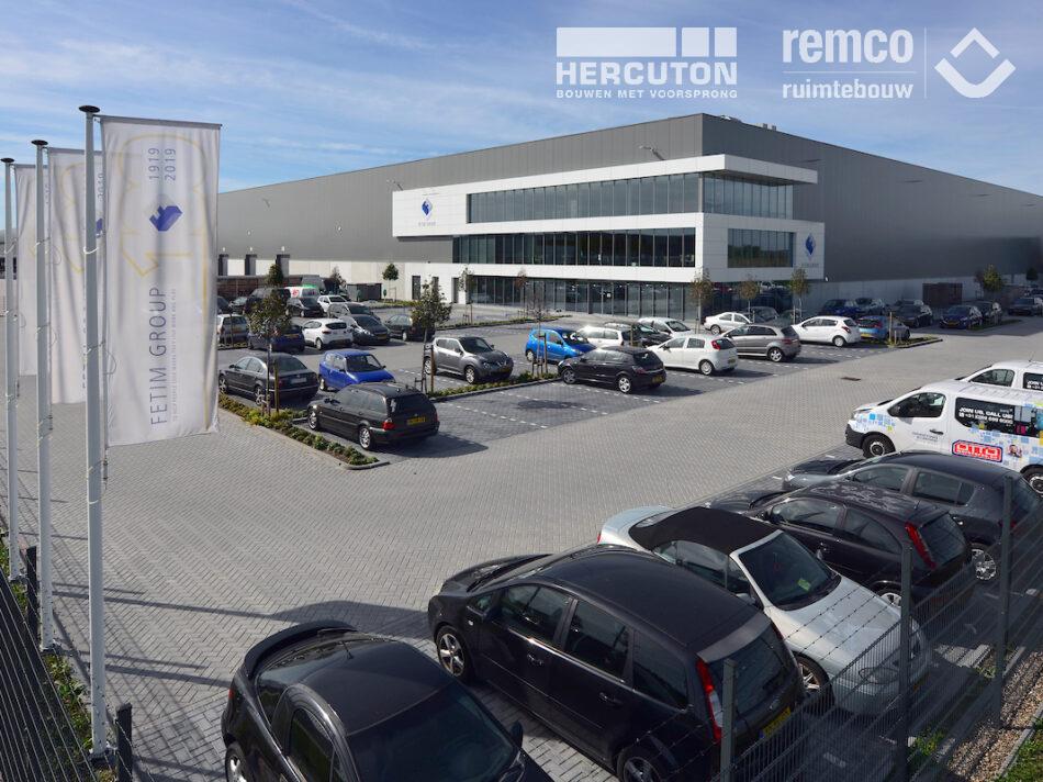 Bouwcombinatie Hercuton / Remco Ruimtebouw realiseerde turn-key een distributiecentrum van maar liefst 60.000 m2 voor Fetim Group.