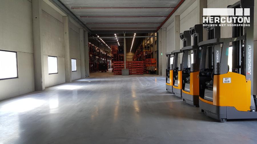 Nieuwbouw distributiecentrum Inter-Sprint Moerdijk