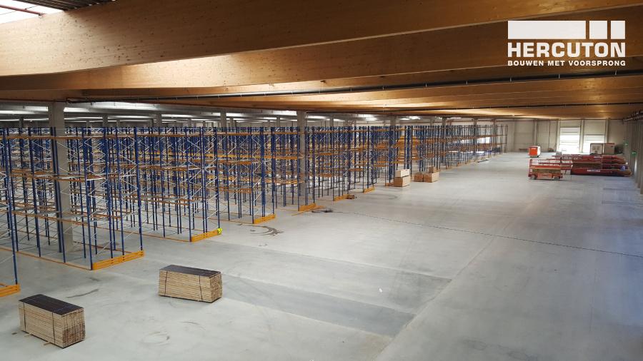 Hercuton realiseert 6e nieuwbouw distributiecentrum voor Inter-Sprint Moerdijk