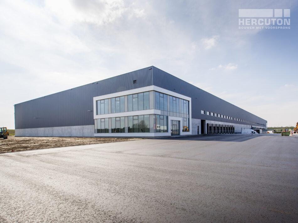 Entree Nieuwbouw distributiecentrum Dordtse Kil III