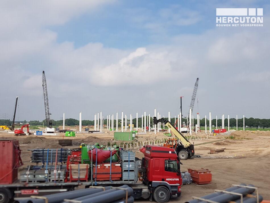 Nieuwbouw DC Crocs Dordrecht